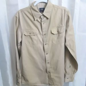 Wrangler Long Sleeve Button Up Shirt